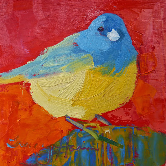 Bird oil paintings Birds Studio Tips Good Books How to eat healthy quotes original art Tracy Haines