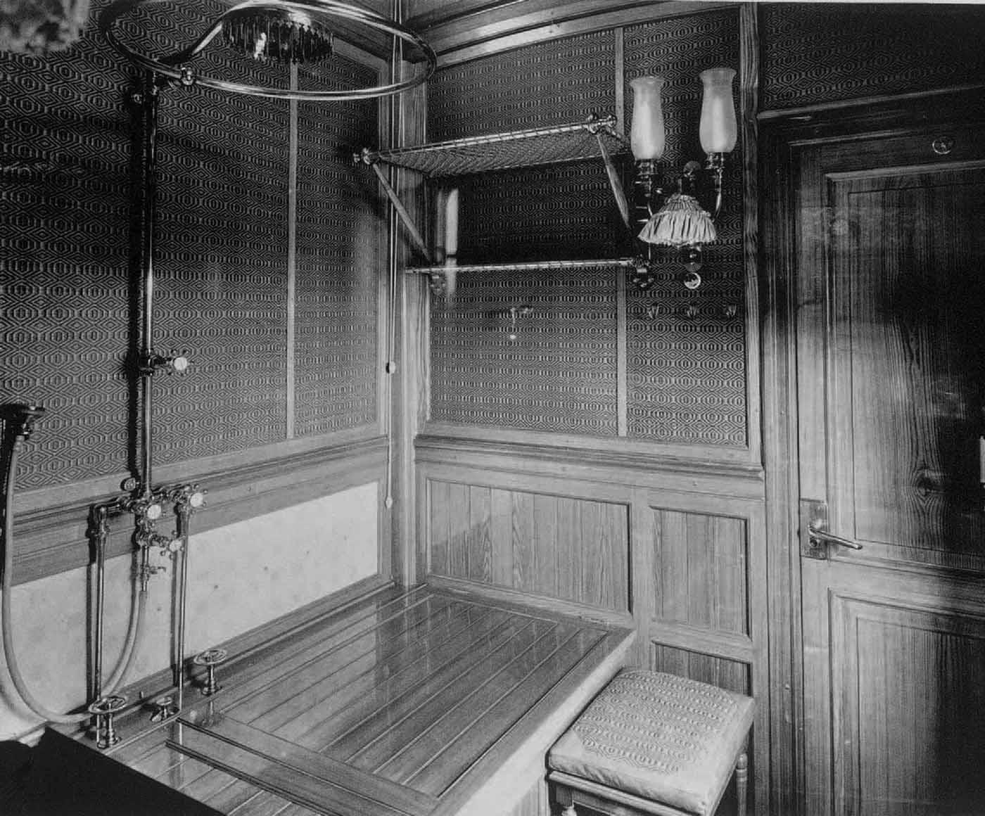 Inside Romanovs Imperial Train 1890s1900s