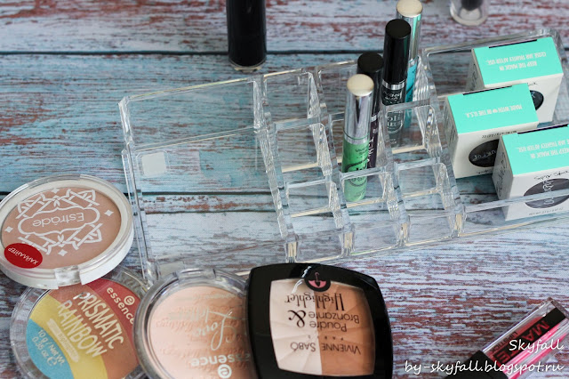 Acrylic Transparent Cosmetics Storage Box Case