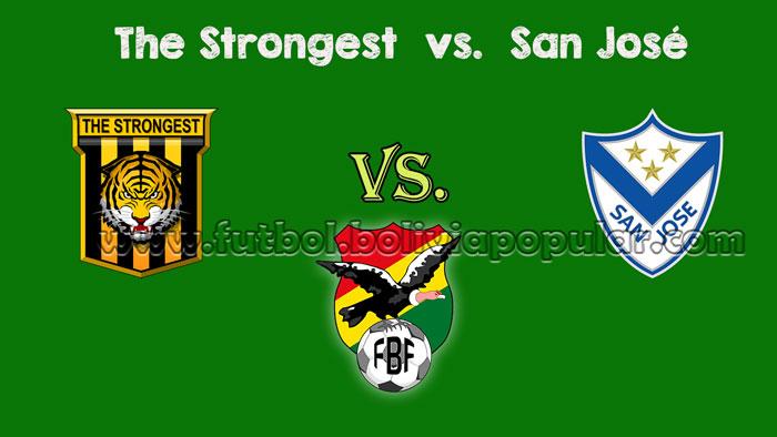The Strongest vs. San José - En Vivo - Online - Torneo Clausura 2018