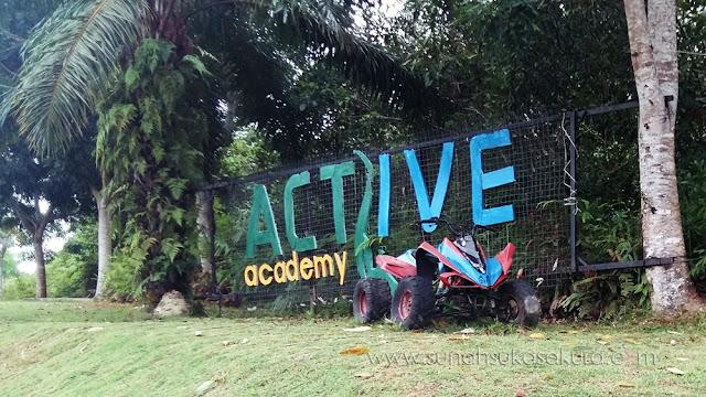 Aktiviti Outdoor Menarik di Active Academy, Bukit Gambang Resort City