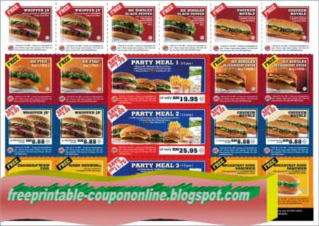 Bk coupons 2018