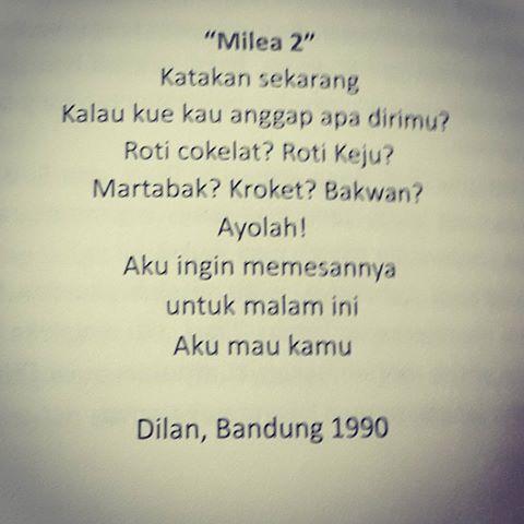 Puisi Dilan