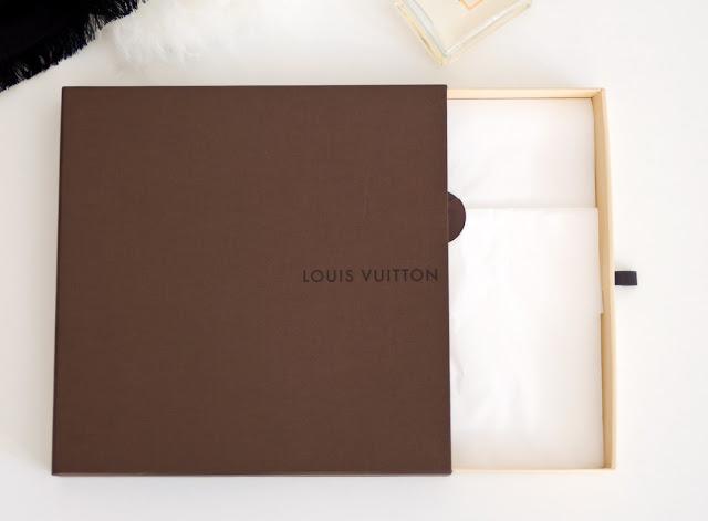 oryginalne pudełko Louis Vuitton