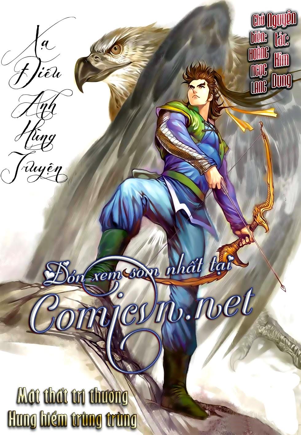 Anh Hùng Xạ Điêu anh hùng xạ đêu chap 56: tuyệt tình vô nghĩa lãnh huyết ác niệm trang 33