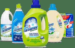 rabais détersif lave vaisselle La Parisienne ml