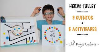 Cuentos, actividades, manualidades infantiles con los libros Hervé Tullet