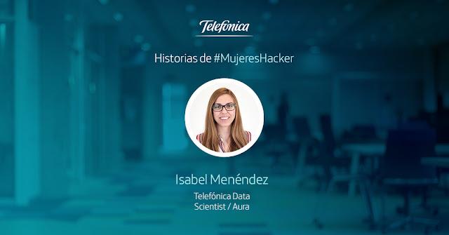 Isabel Menéndez experta en Data Science de Telefónica Aura imagen