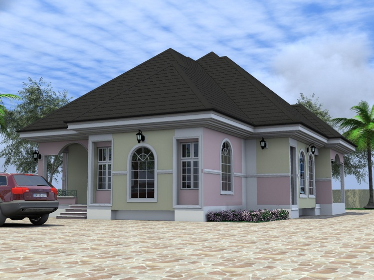 astonishing modern bungalow house plans in nigeria contemporary