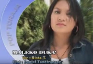 Lirik Lagu Toraja Maleko Duka' (Rista Tangirerung)
