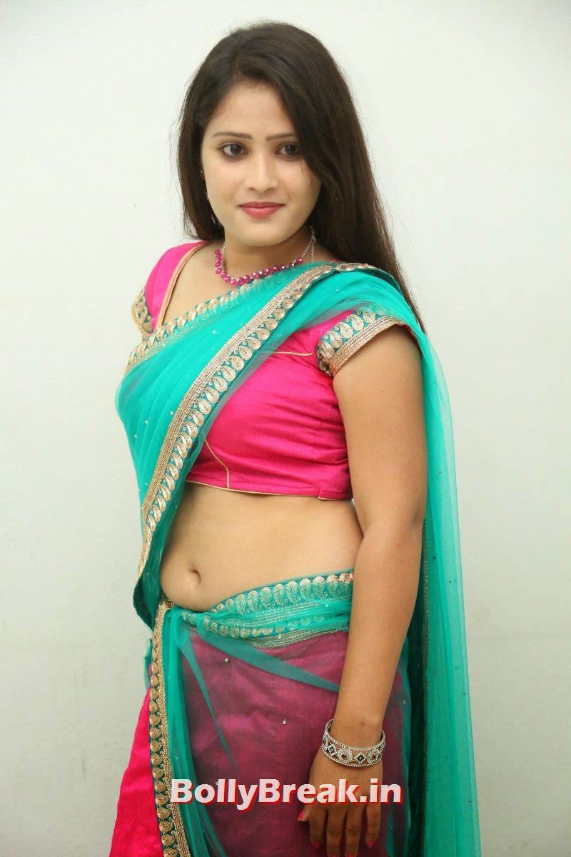 Anusha Photo Gallery with no Watermarks, Actress Anusha in backless blouse low waist saree