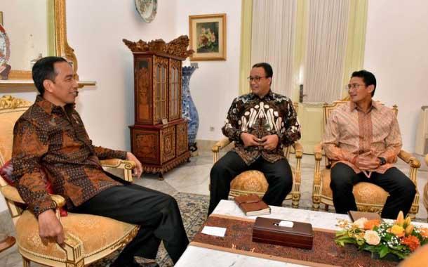 """Akan Bertemu Jokowi, Sandi Tegaskan Komitmen Tutup Reklamasi """"Final"""""""