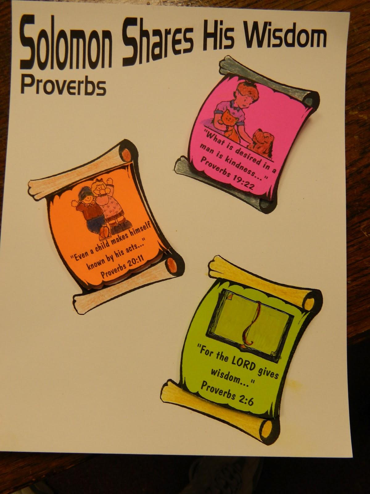 Hands On Bible Teacher Solomon Shares His Wisdom Through