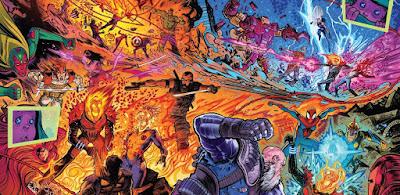100% Marvel HC. Motorista Fantasma Cósmico: El bebé Thanos debe morir