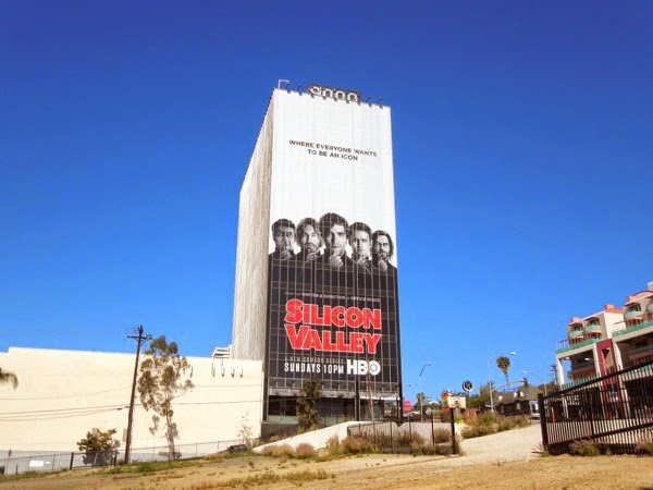 Giant Silicon Valley series premiere billboard