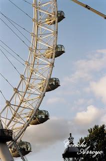 London Eye, noria a orillas del Tamesis desde donde se pueden ver unas magnificas vistas de la ciudad de Londres