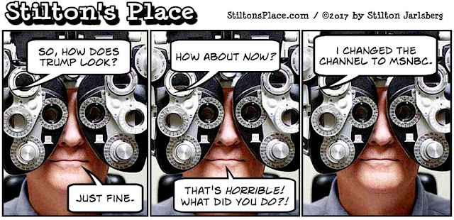 stilton's place, stilton, political, humor, conservative, cartoons, jokes, hope n' change, optometrist, msnbc, glasses, kathy griffin