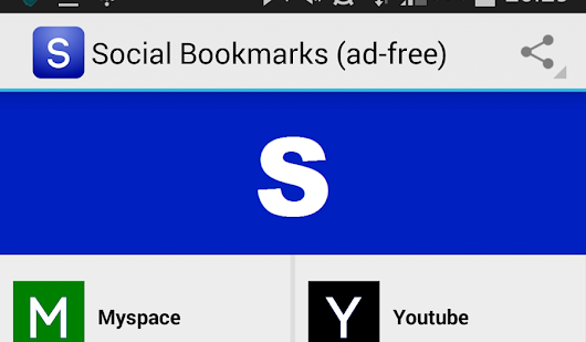 Social Bookmarks: the easiest way to access all your social networks