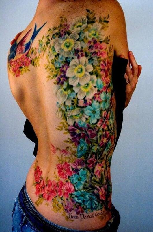 rose tattoo small