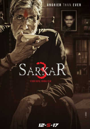 Sarkar 3 2017 DVDRip 480p Full Hindi Movie Download 350MB