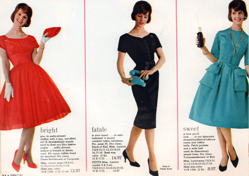 Retrospace Catalogs 44 Spiegel Fall & Winter 1961 Part 1