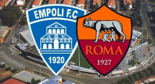 نتيجة مباراة روما وامبولى اليوم 30-10-2016 , محمد صلاح في التشكيل الأساسي فريق روما في الدوري الإيطالي , التعادل 0-0