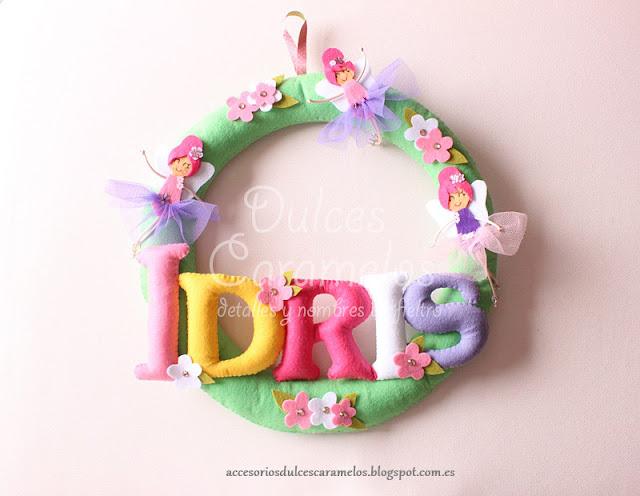 nombre fieltro hadas para Idris