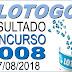Resultado da Lotogol concurso 1008 (27/08/2018) ACUMULOU!!!