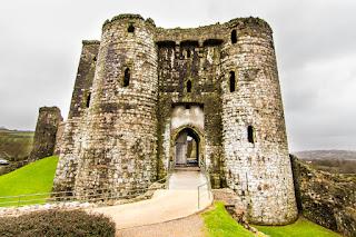 Castillo de Kidwelly Castle Gales Wales