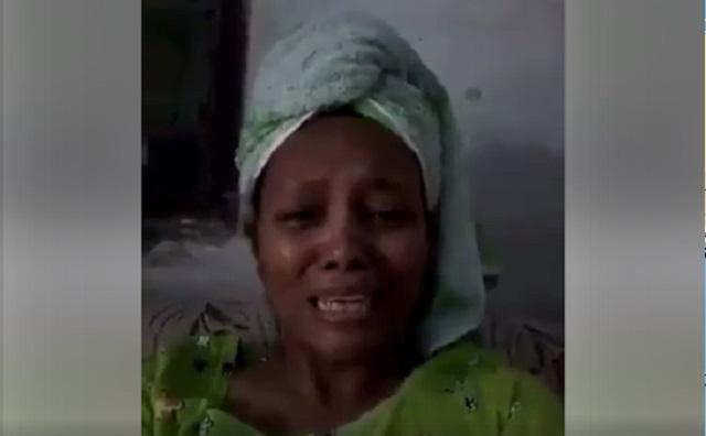 Video Viral Seorang Ibu Menangis Karena Ahok Tersangka