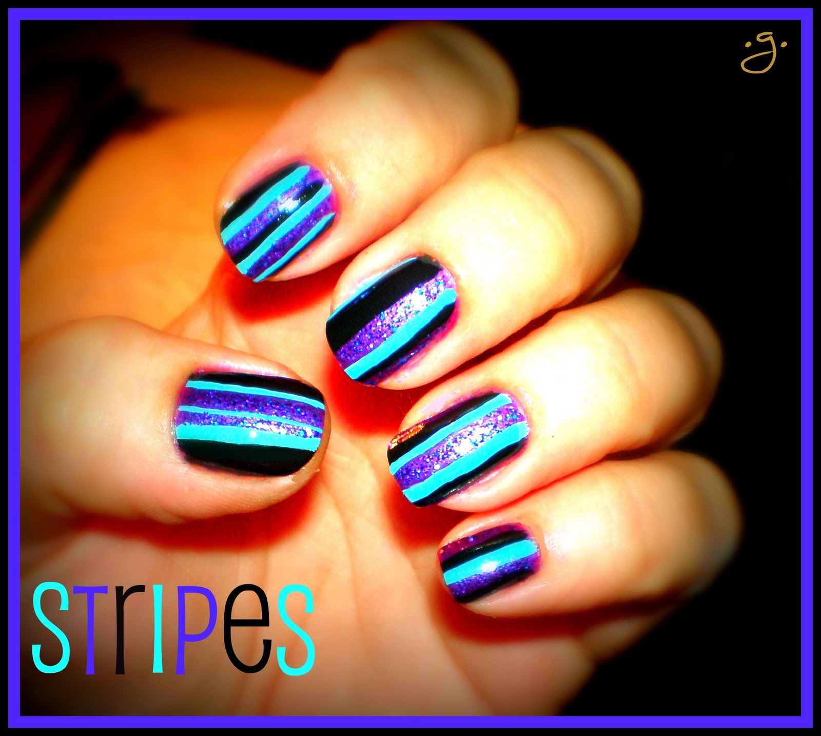 Gricell's Funky Nails: More Fun Halloween Nail Designs