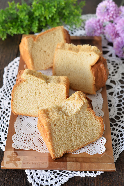 ultra soft maple syrup chiffon cake