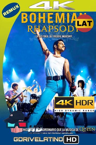 Bohemian Rhapsody (2018) BDRemux 4K HDR Latino-Ingles mkv