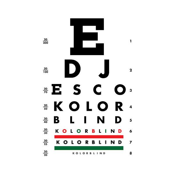 DJ ESCO - Kolorblind Cover