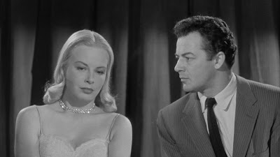 Jean Wallace, Cornel Wilde, The Big Combo (1955)