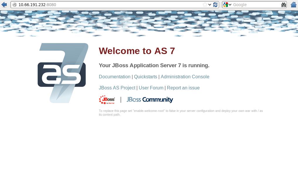 jboss application root
