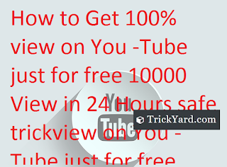 Get 10000 View on YouTube Just for free and Start monetization  in just 1 day 100% working trick
