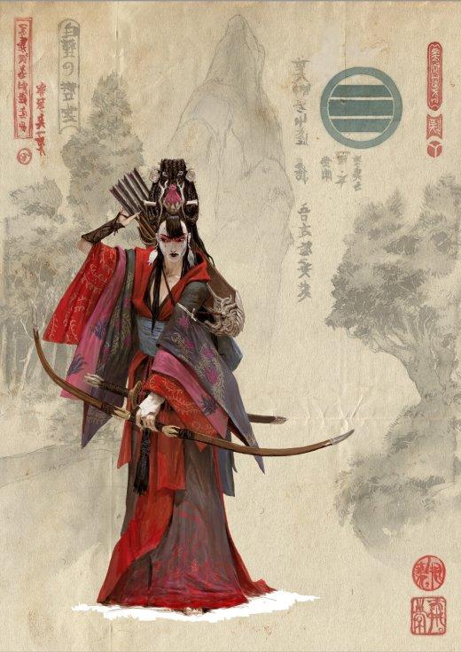 Adrian Smith artstation arte ilustrações fantasia oriental games