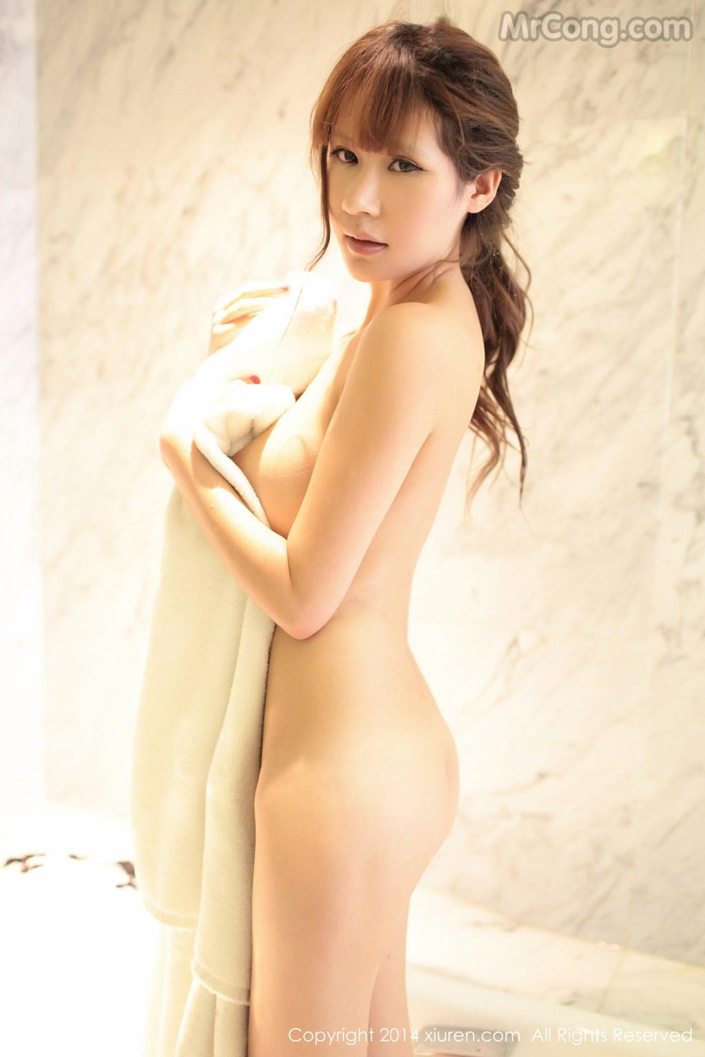 Image MrCong.com-XIUREN-No.130-Su-Ke-Er-051 in post XIUREN No.130: Người mẫu Su Ke Er (苏可er) (52 ảnh)