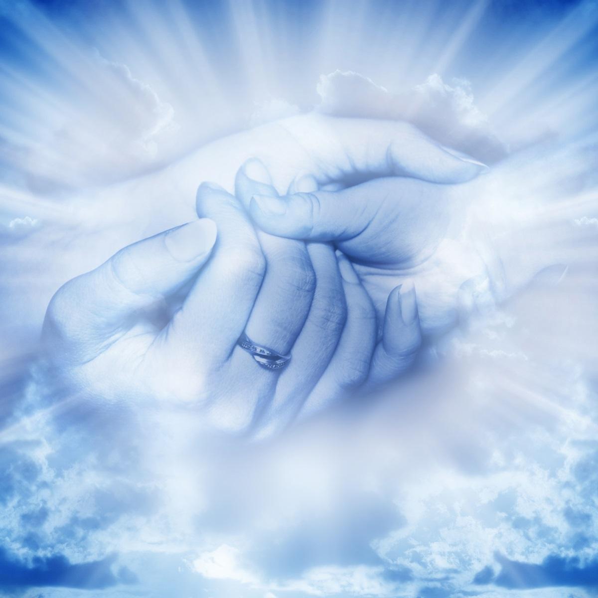 Генерального директора, картинки мать с сыном на небесах