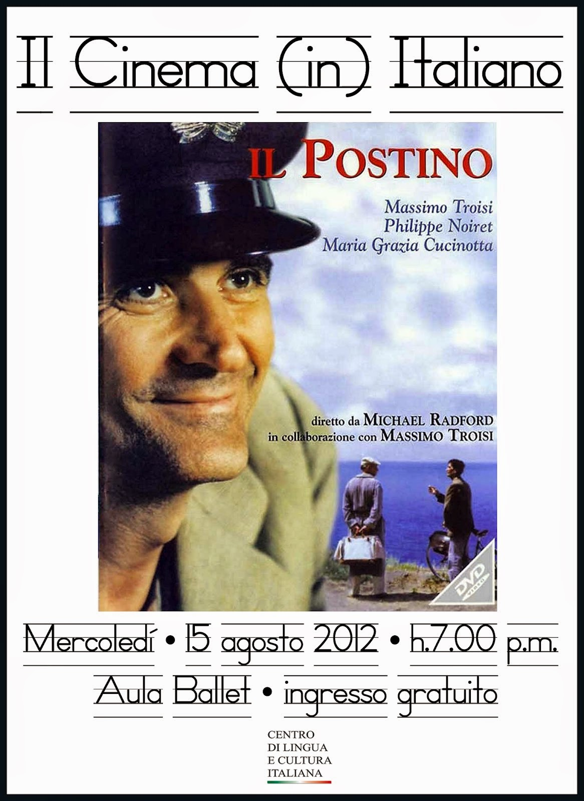 theme or issue il postino dancing There is a certain common emotional theme to poems il postino is a fictional story about a postman in a small italian village who issue 13 fault.