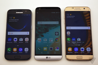 Samsung Galaxy S7 vs. LG G5: two of 2016's biggest phones differents
