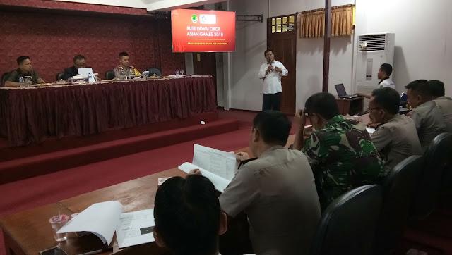 Dipastikan Api obor Asian Games XVIII Melintas di Kabupaten PALI