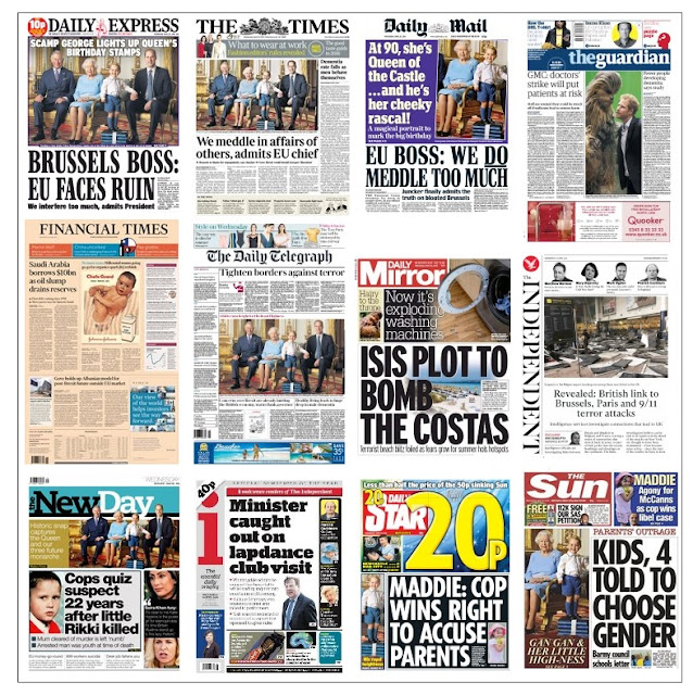 front pages 20-04-16