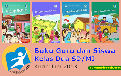 Buku Guru dan Siswa Kelas Dua SD/MI Kurikulum 2013