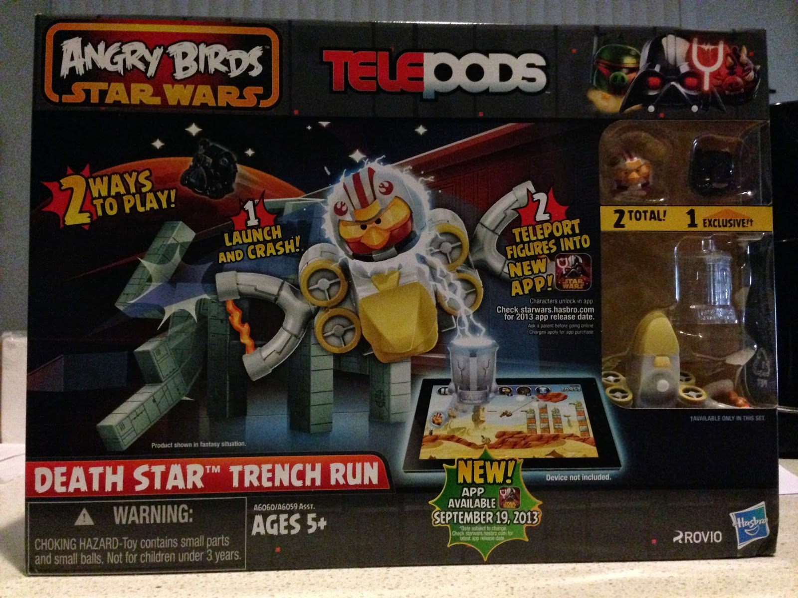 Angry Birds Star Wars Toys : Review of angry birds star wars toys from hasbro lille punkin