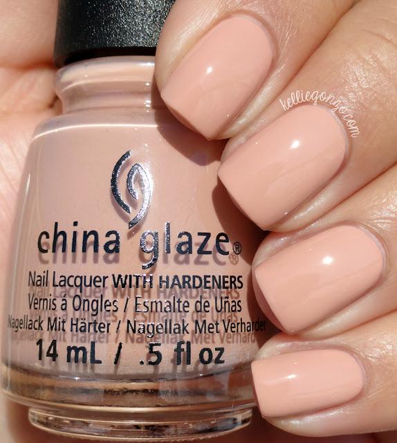 China Glaze Sorry I'm Latte