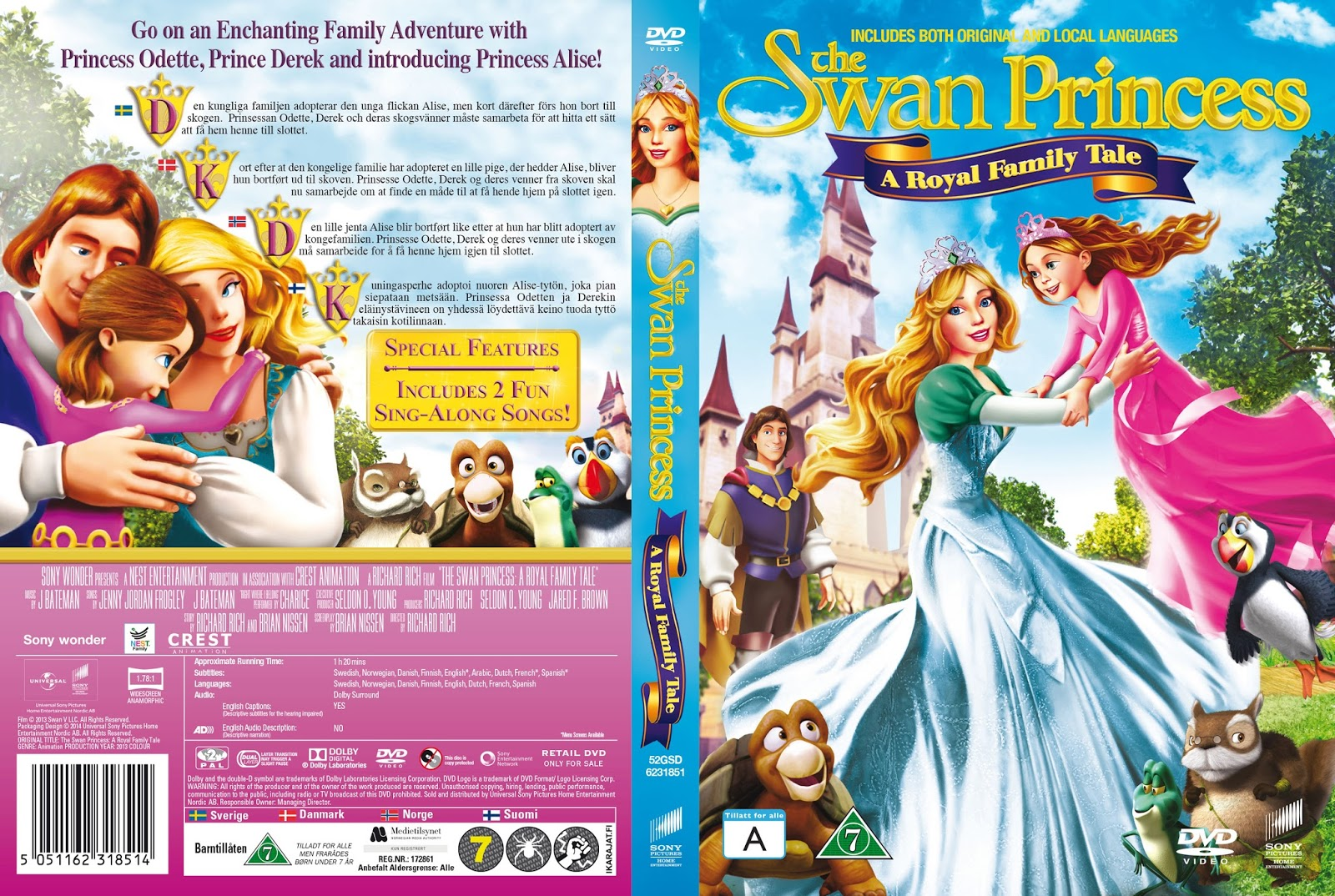 the swan princess a royal family tale online