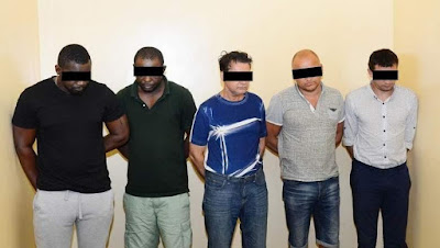 The Sharjah Police UAE bust international gang, arrest five suspects including Africans