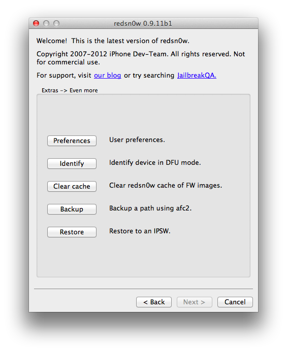 Download redsn0w 0. 9. 15b3 for mac & windows [direct links].